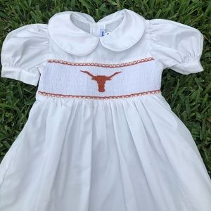 Other - Longhorn smocked dress